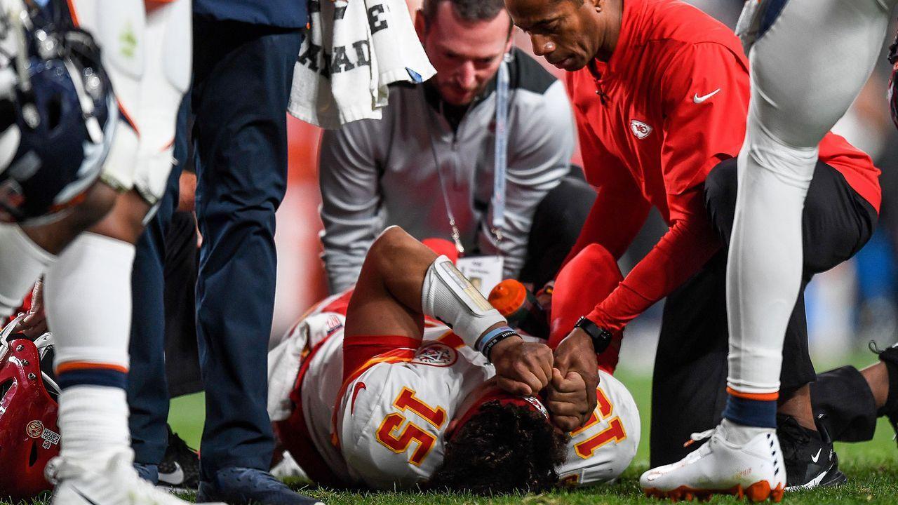 Verlierer: Patrick Mahomes - Bildquelle: 2019 Getty Images