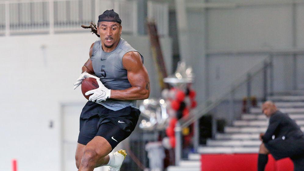 Jakob Johnson hat einen Vertrag bei den New England Patriots unterschrieben. - Bildquelle: NFL