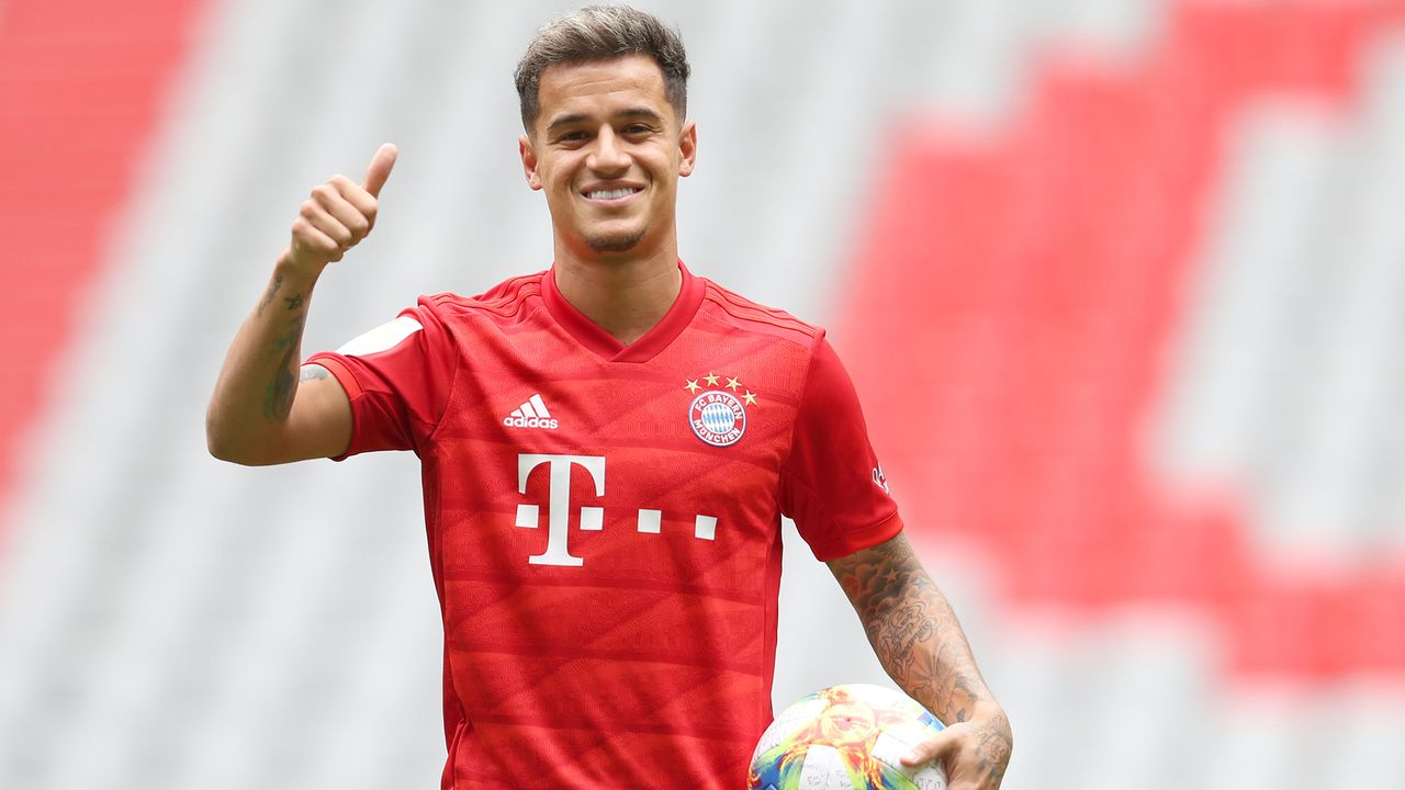 Platz 2 - Philippe Coutinho - Bildquelle: 2019 Getty Images