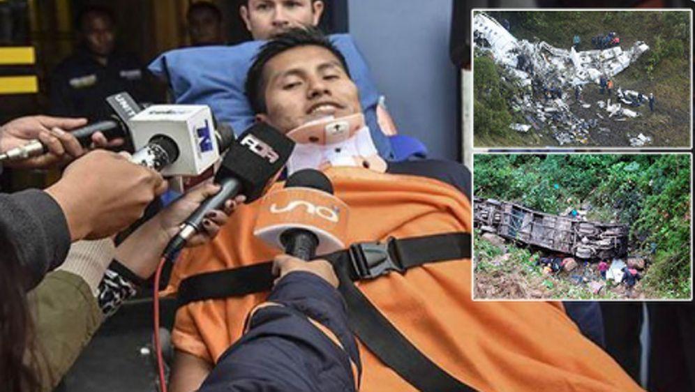 Erwin Tumiri überlebte 2016 einen Flugzeugabsturz und zuletzt ein schweres B... - Bildquelle: twitter@pusholder