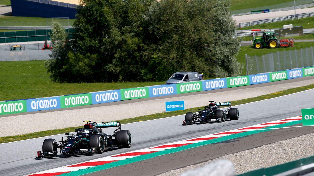 Mercedes-Dominanz mit dem Erfolgsfaktor DAS - Bildquelle: imago images/HochZwei