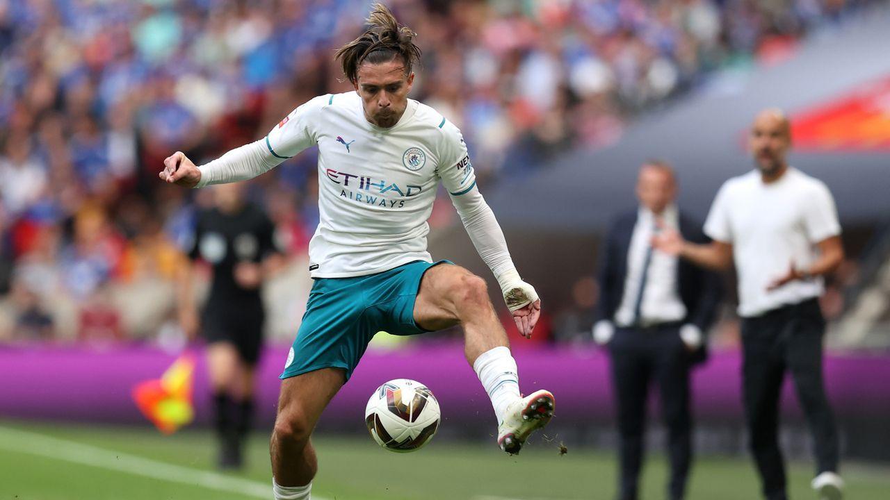 Platz 4 - Jack Grealish (Manchester City) - Bildquelle: 2021 Getty Images