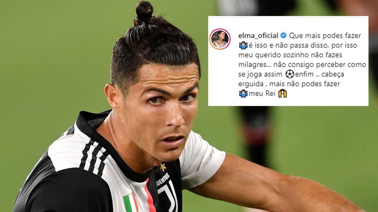 Ronaldo-Schwester zählt Juve-Trainer Sarri an  - Bildquelle: imago images/Insidefoto