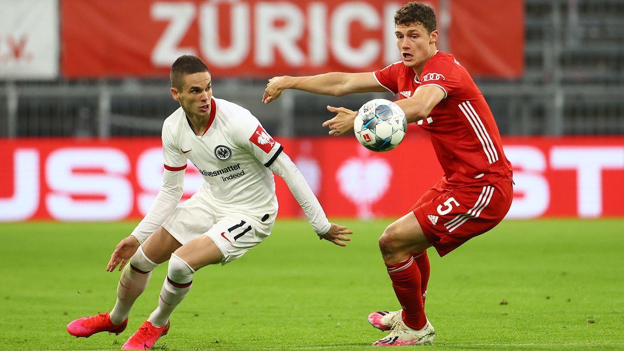 FC Bayern: Benjamin Pavard - Bildquelle: Getty Images