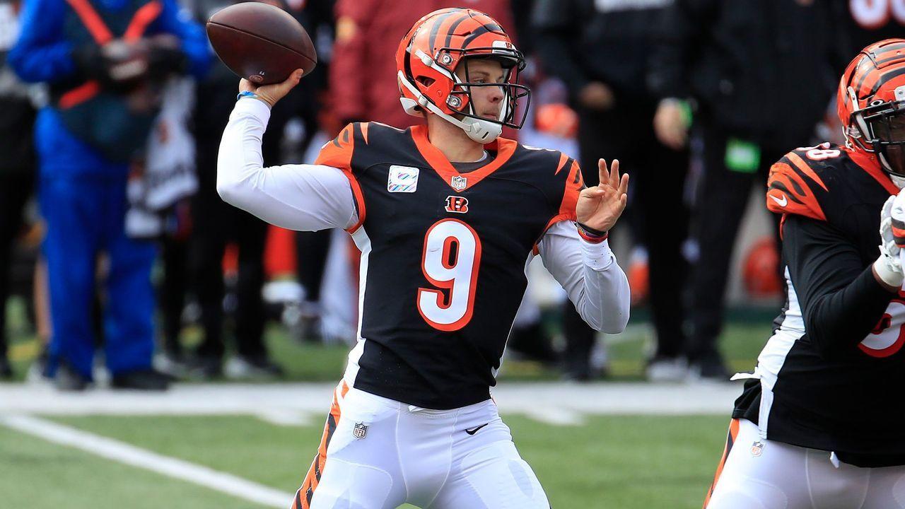 6. Joe Burrow (Quarterback, Cincinnati Bengals) - Bildquelle: 2020 Getty Images