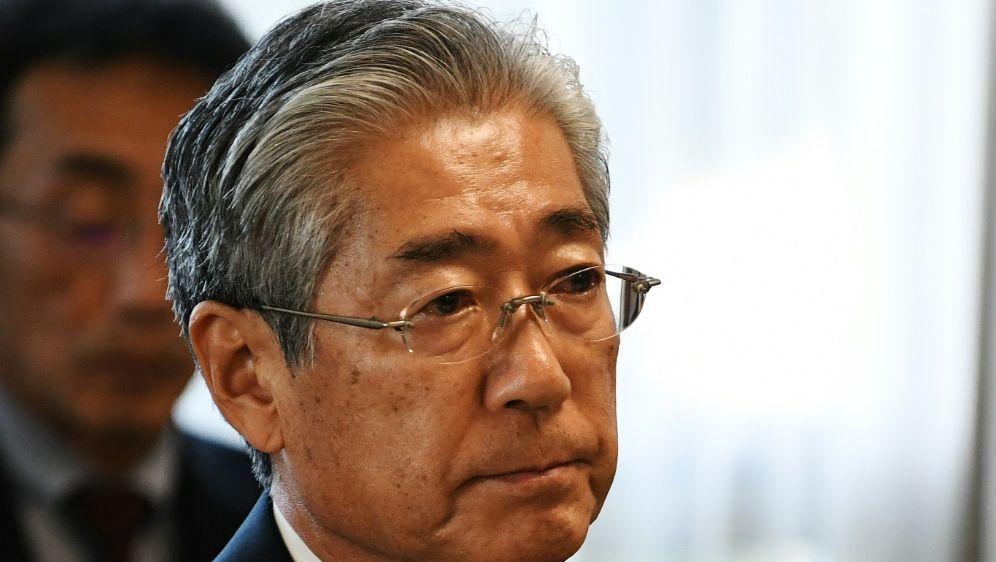 Tsunekazu Takeda tritt nach Korruptionsvorwürfen zurück - Bildquelle: AFPSIDCHARLY TRIBALLEAU