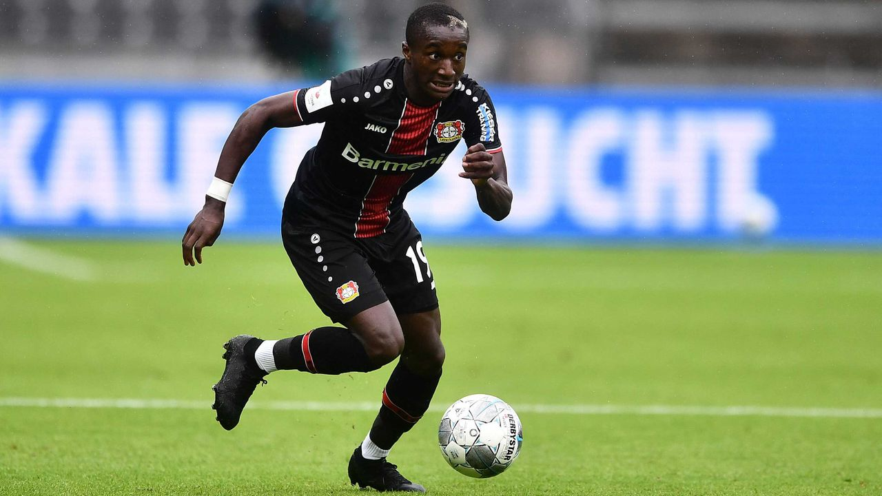 Mittelfeld: Moussa Diaby (Bayer 04 Leverkusen)  - Bildquelle: imago