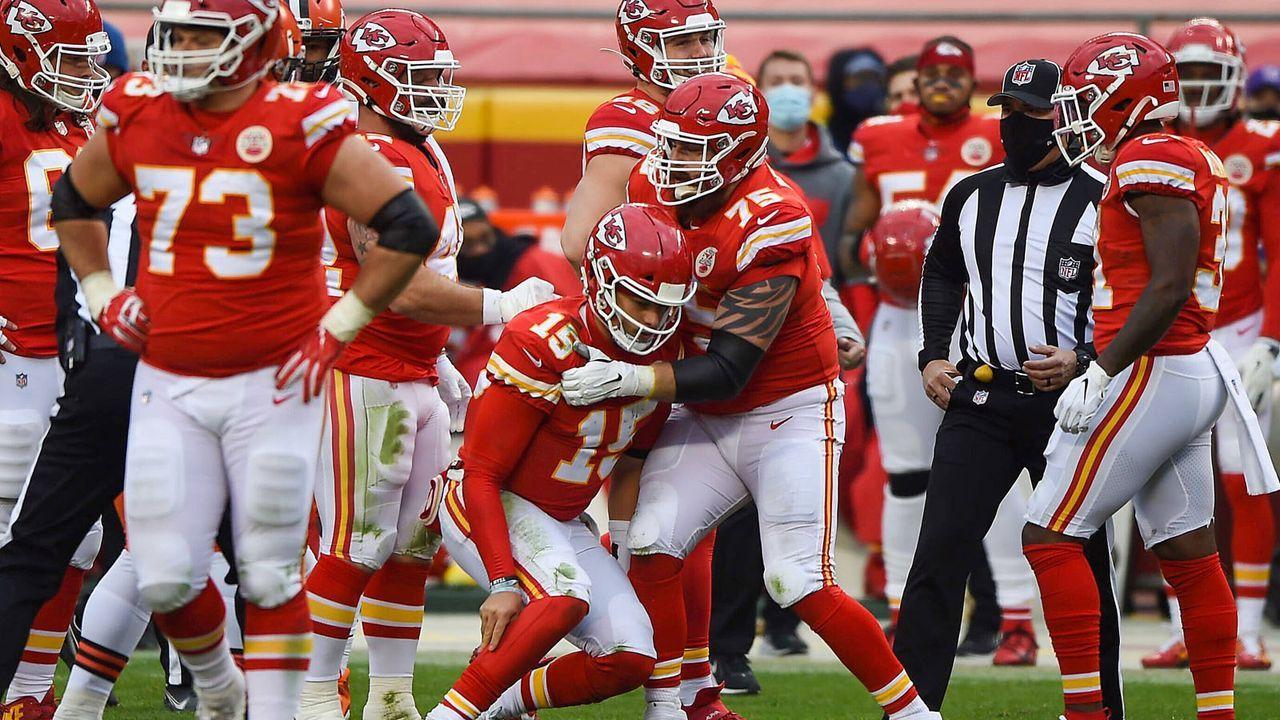 Platz 2: Kansas City Chiefs - Bildquelle: imago images/ZUMA Wire