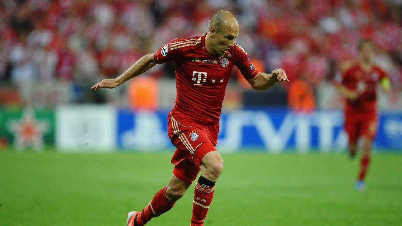 Arjen Robben - Bildquelle: 2012 Getty Images
