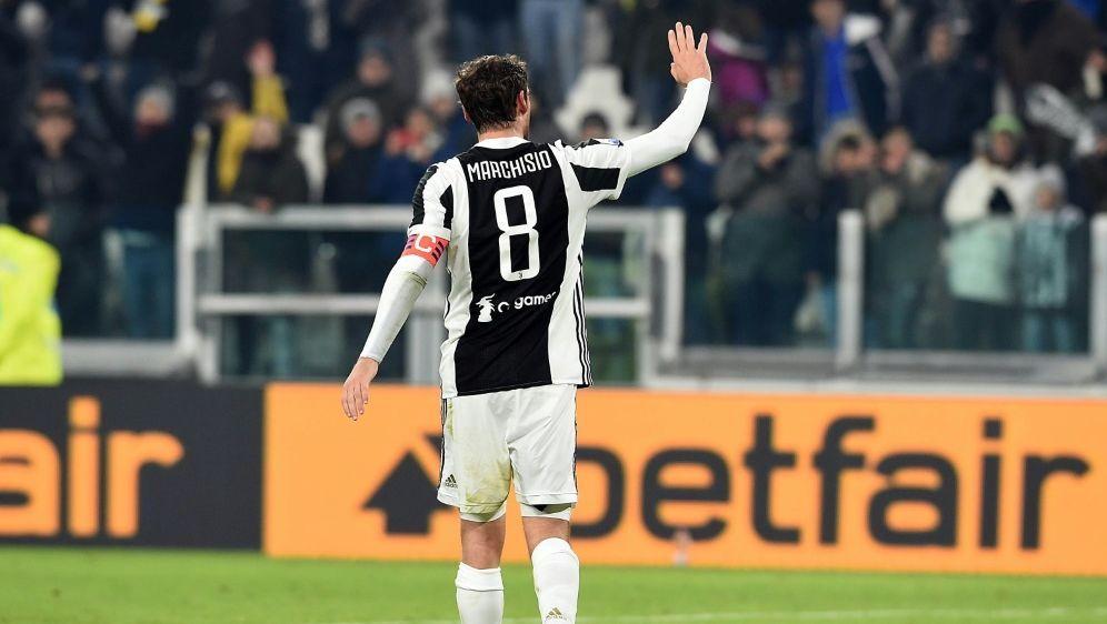 In 12 Jahren gewann Marchisio 7 Meisterschaften mit Juve - Bildquelle: PIXATHLONPIXATHLONSID