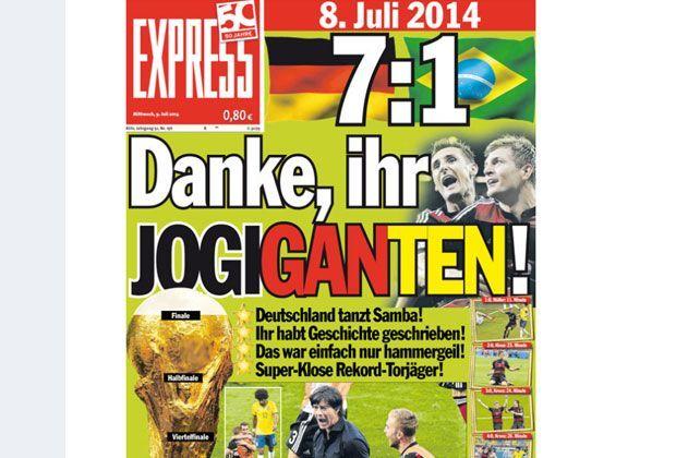 Brasilien Gegen Deutschland Die Internationalen Pressestimmen