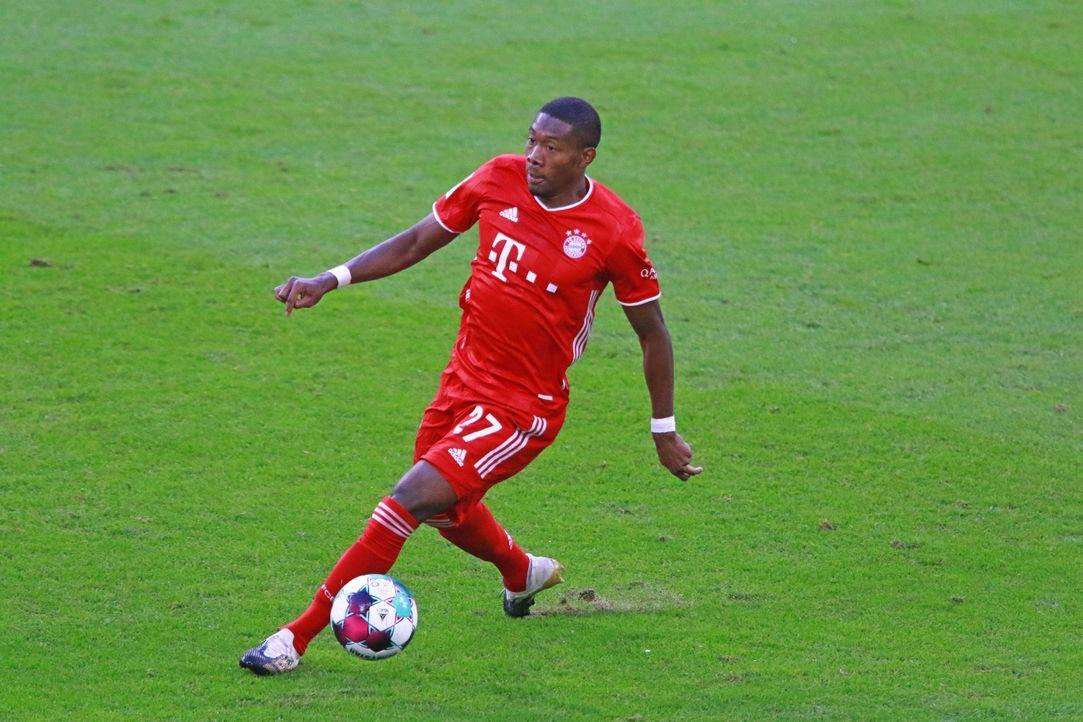 David Alaba (FC Bayern München) - Bildquelle: imago images/Lackovic