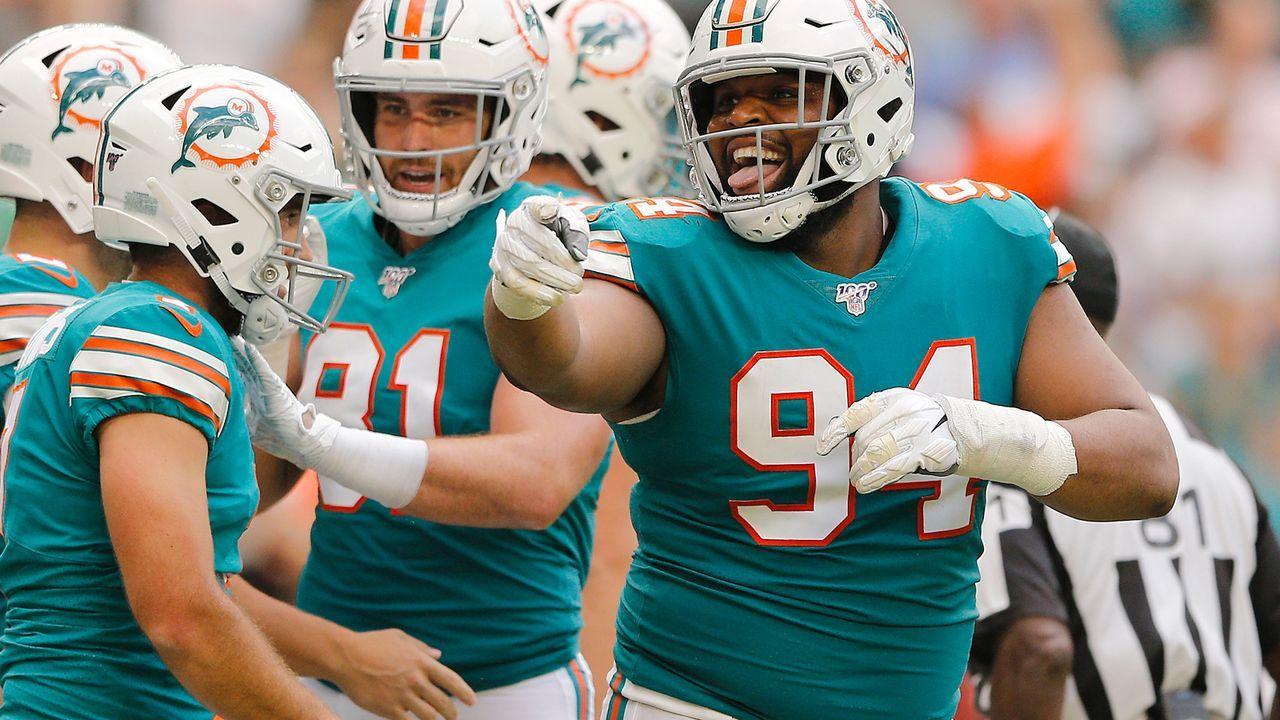 Miami Dolphins: Christian Wilkins (Defense) - Bildquelle: 2019 Getty Images