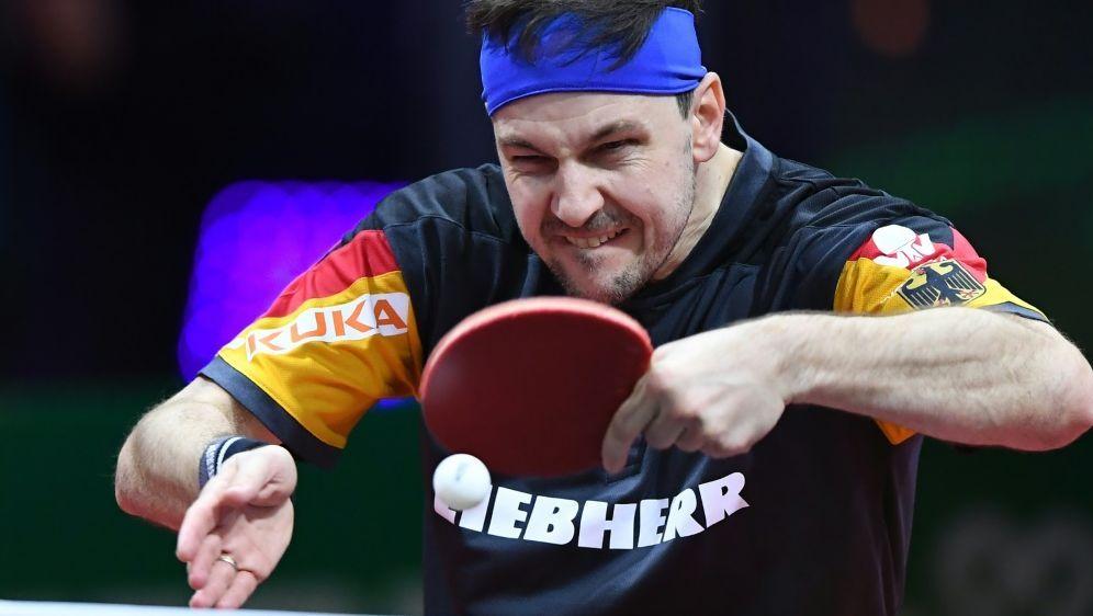 Steht im Viertelfinale: Timo Boll - Bildquelle: AFPSIDATTILA KISBENEDEK