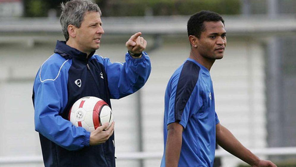 Mit dem FC Zürich feierten Lucien Favre und Raffael 2006 und 2007 zwei Mal d... - Bildquelle: imago
