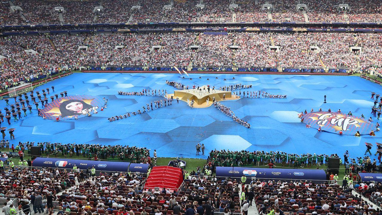 Die WM-Abschlussfeier - Bildquelle: 2018 Getty Images