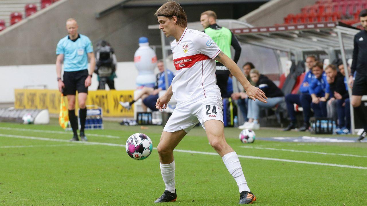Platz 15 (geteilt): Borna Sosa (VfB Stuttgart) - Bildquelle: Imago