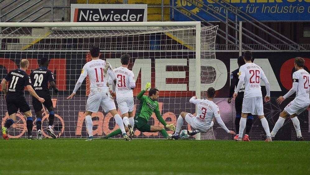 Marco Komenda traf für Holstein Kiel zum 1:1-Ausgleich - Bildquelle: Imago