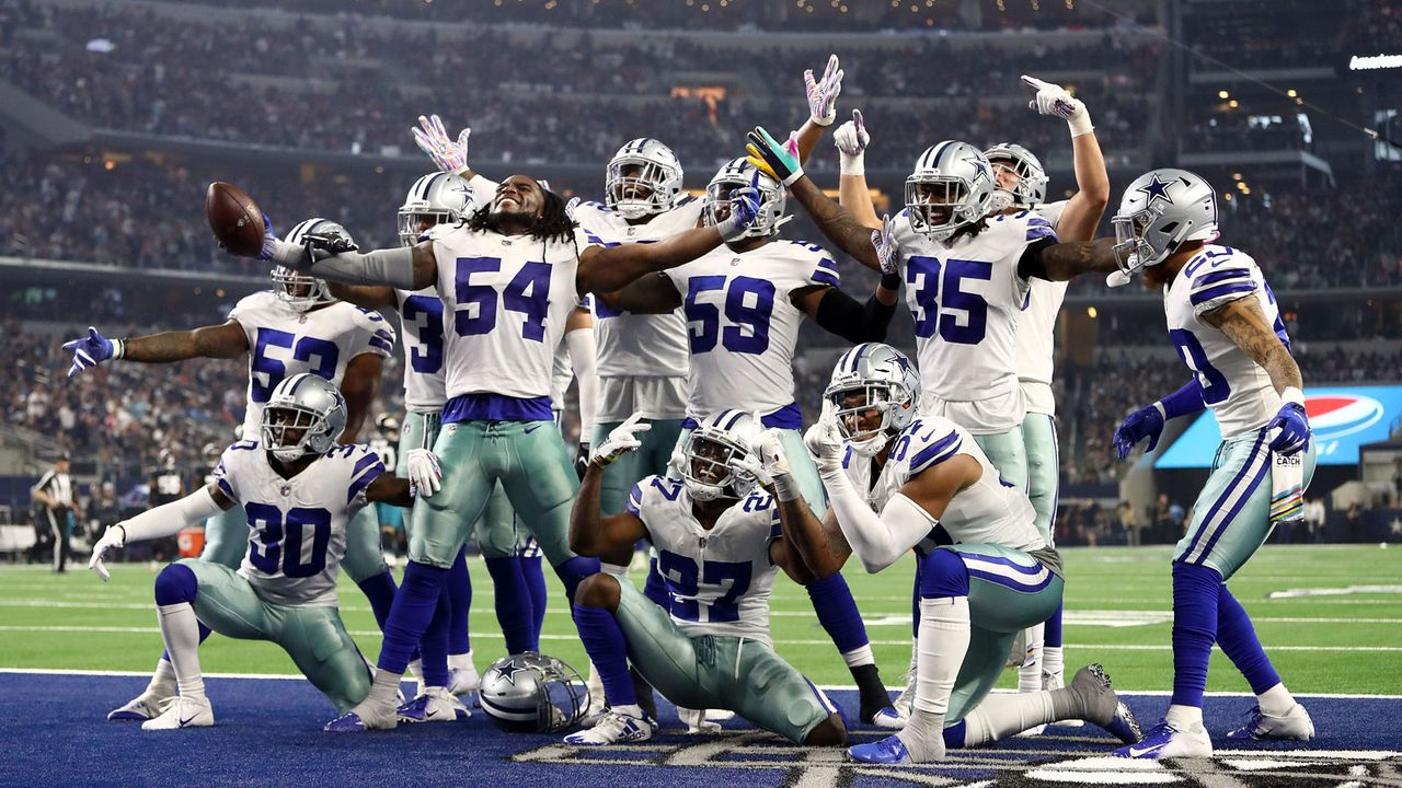 Platz 1 - Dallas Cowboys (American Football) - Bildquelle: 2018 Getty Images