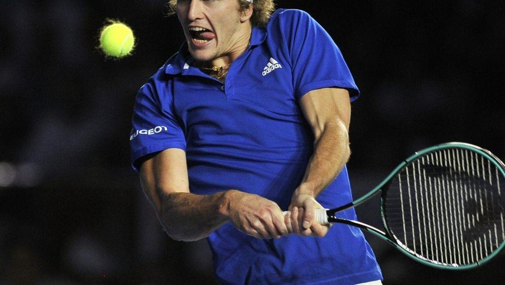 Zverev spielte sich beim Turnier in Nizza ins Finale - Bildquelle: AFPSIDCLAUDIO CRUZ