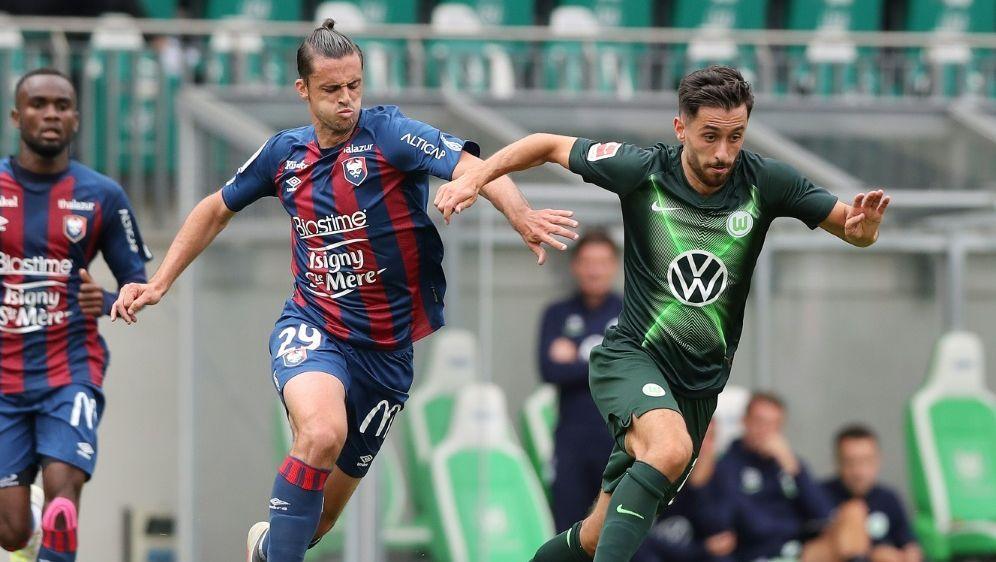 Wolfsburg gewann das Testspiel gegen Caen mit 2:1 - Bildquelle: FIROFIROSID