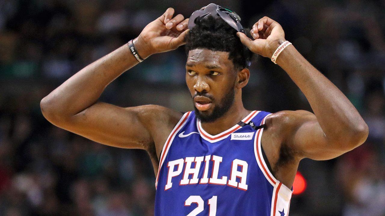 Platz 8: Joel Embiid, Philadelphia 76ers - Bildquelle: 2018 Getty Images