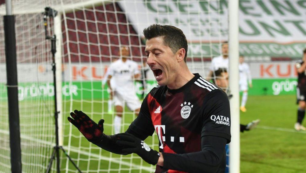 Lewandowski erzielte den Siegtreffer per Strafstoß - Bildquelle: FIROFIROSID