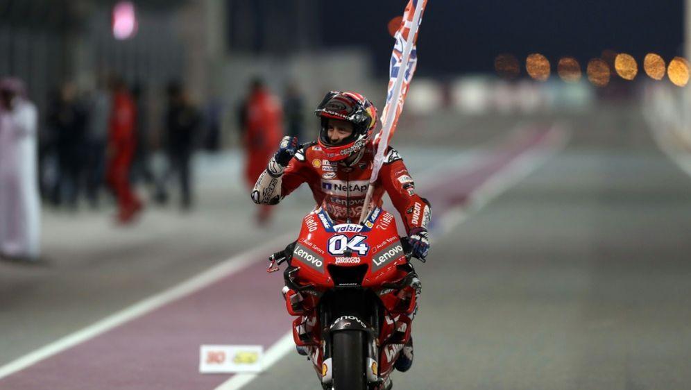 Der Saisonauftakt der MotoGP in Katar wurde abgesagt - Bildquelle: AFPSIDKARIM JAAFAR