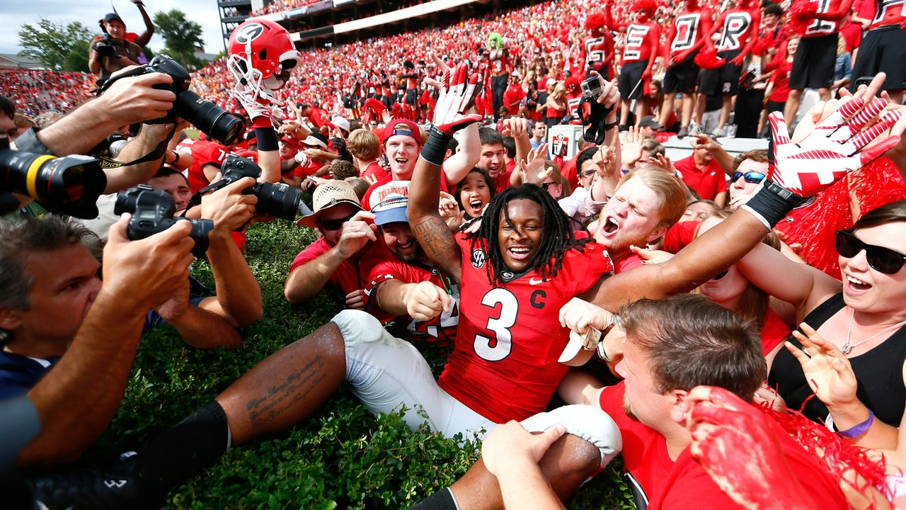 7. Georgia Bulldogs - Bildquelle: 2014 Getty Images