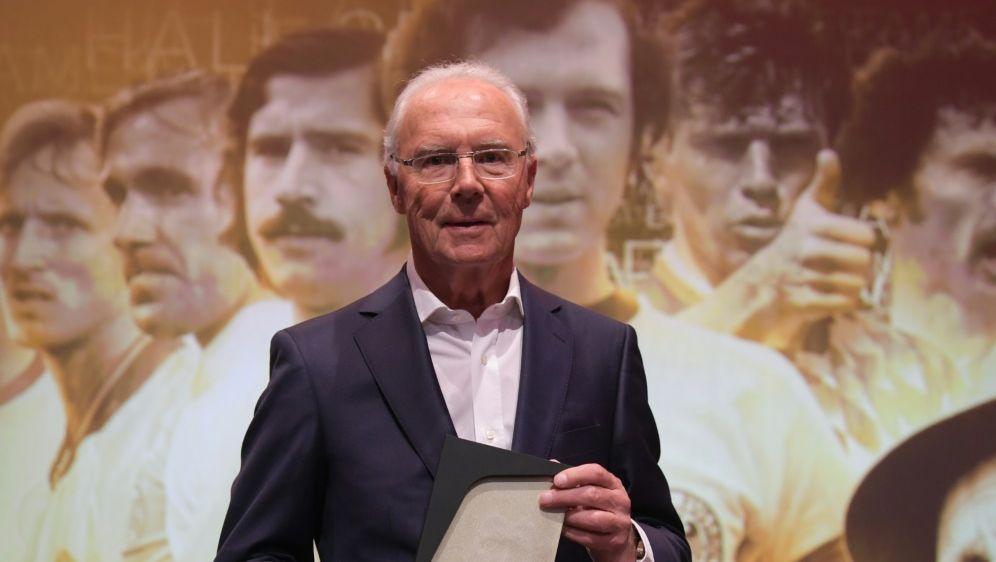 Beckenbauer hat einen frommen Wunsch - Bildquelle: POOLPOOLSIDINA FASSBENDER