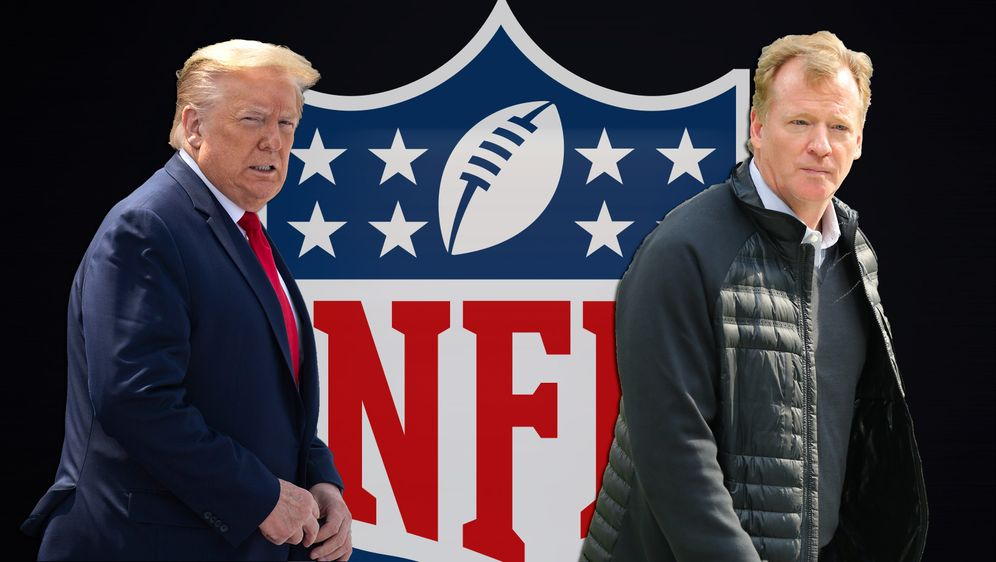 Donald Trump attackiert Roger Goodell und die NFL. - Bildquelle: getty