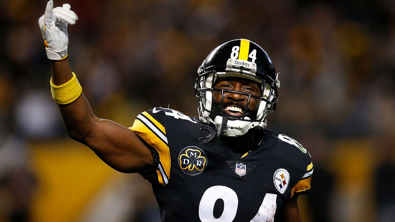 Platz 1: Antonio Brown (Pittsburgh Steelers) - Bildquelle: 2017 Getty Images