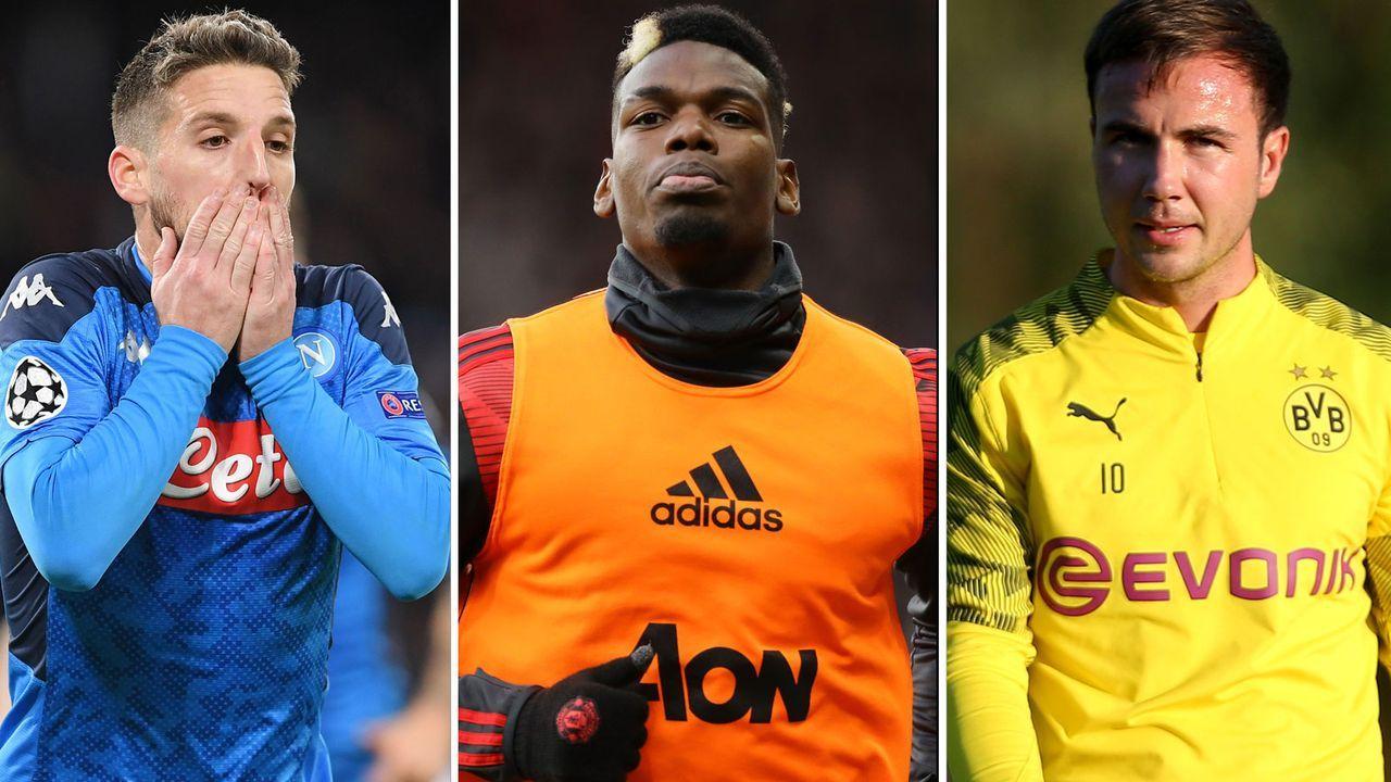 Diese Spieler könnten zu Transferopfern der Corona-Krise werden - Bildquelle: Getty Images