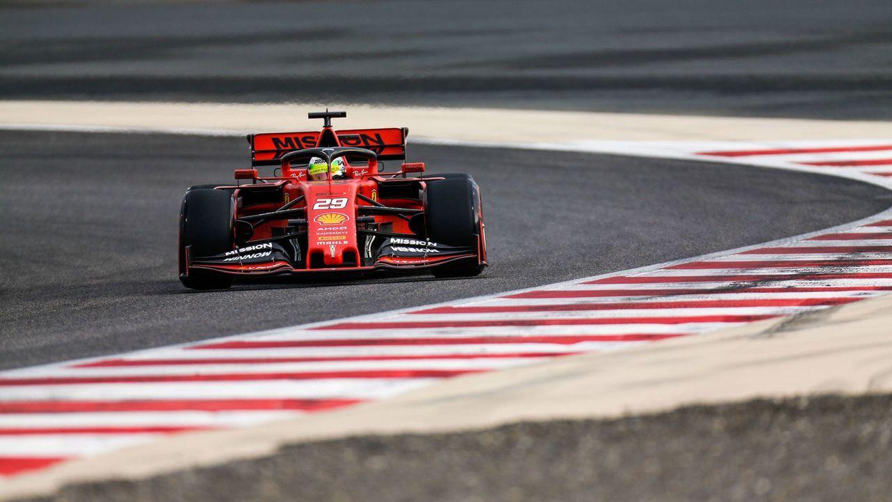 Mick Schumachers F1-Test im Ferrari - Bildquelle: imago images / Motorsport Images