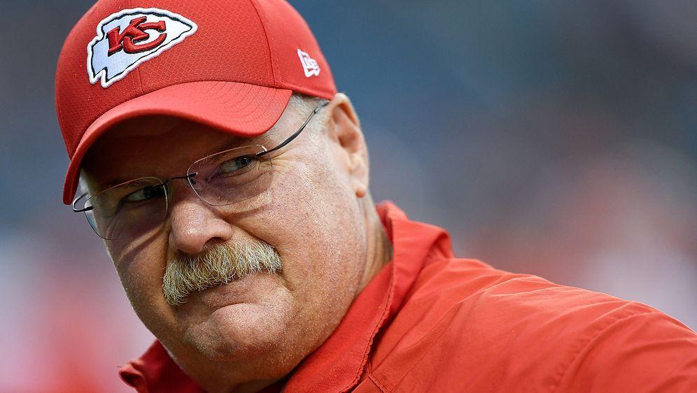Andy Reid ist seit 2013 Head Coach der Kansas City Chiefs. - Bildquelle: getty