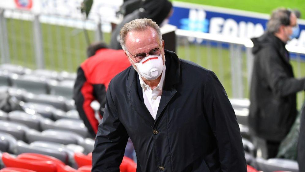 Rummenigge will Rückkehr zur Gangart der Triple-Saison - Bildquelle: FIROFIROSID