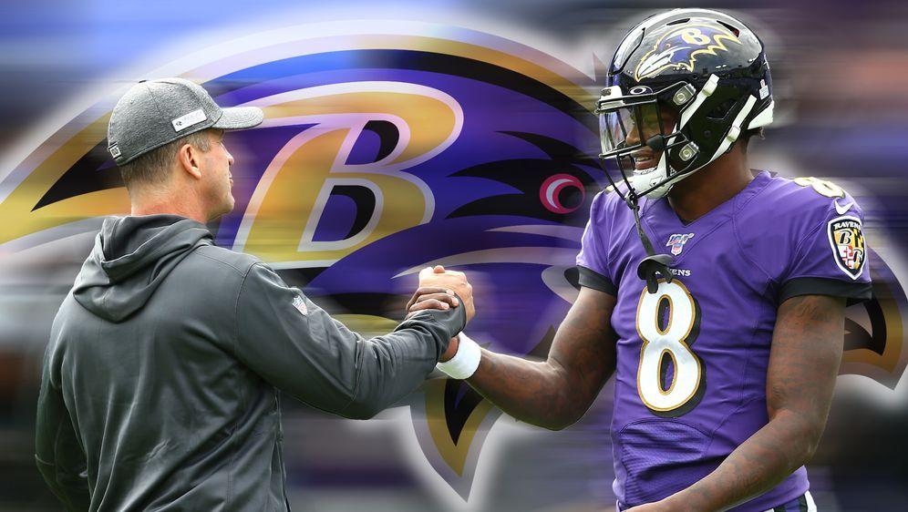 Wollen diese Saison mit den Ravens zum großen Wurf ausholen: Head Coach John... - Bildquelle: Getty Images