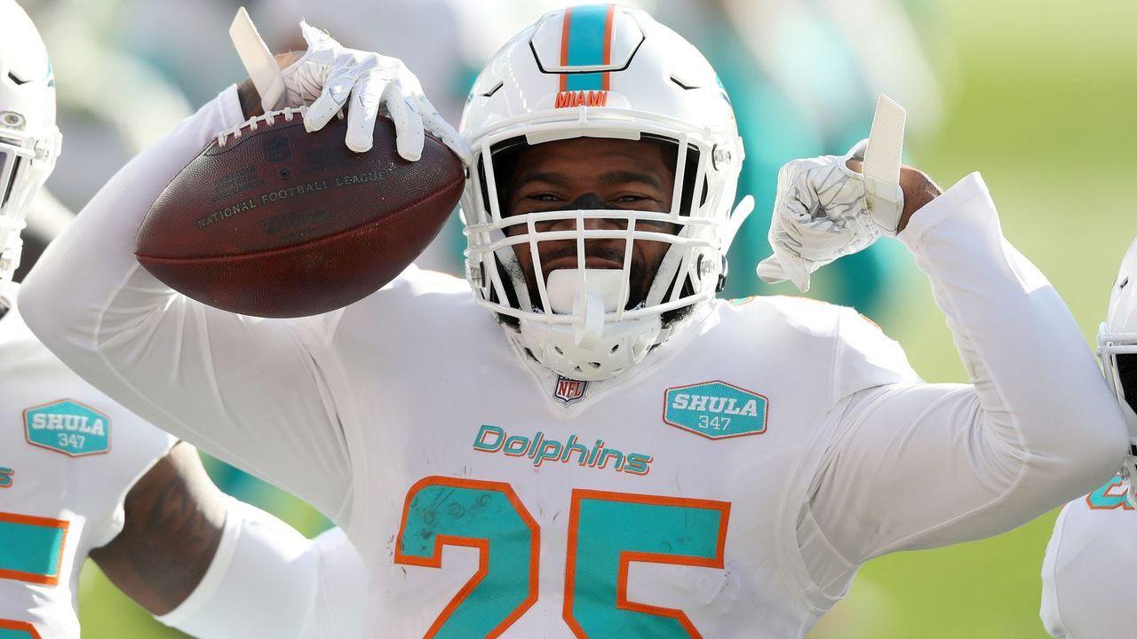 Xavien Howard (Miami Dolphins) - Bildquelle: Getty Images
