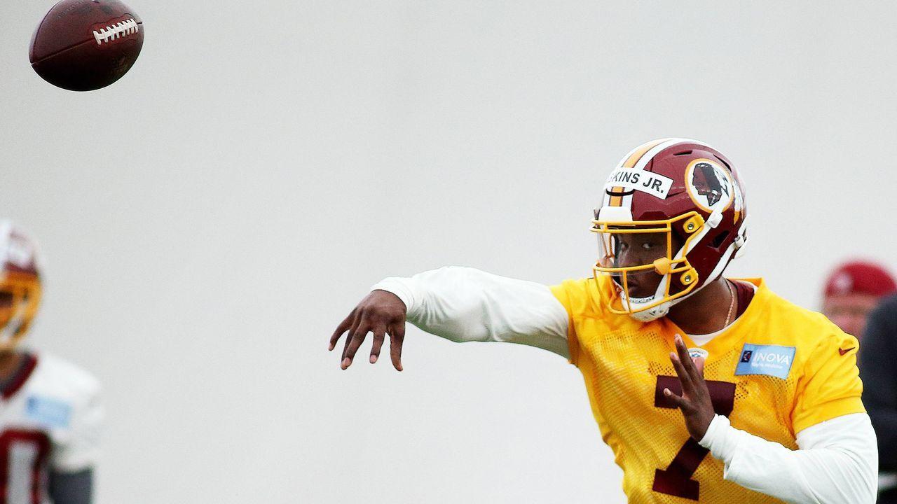Dwayne Haskins (Quarterback Washington Redskins) - Bildquelle: imago images / Icon SMI