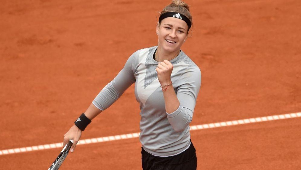 Erstmals in einem WTA-Finale: Karolin Muchova - Bildquelle: AFPSIDMichal CIZEK