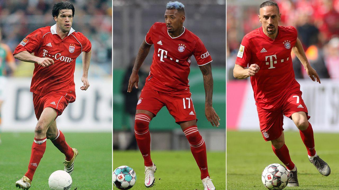 Jerome Boateng der Nächste? Diese Stars verließen den FC Bayern ablösefrei - Bildquelle: Getty Images/Imago