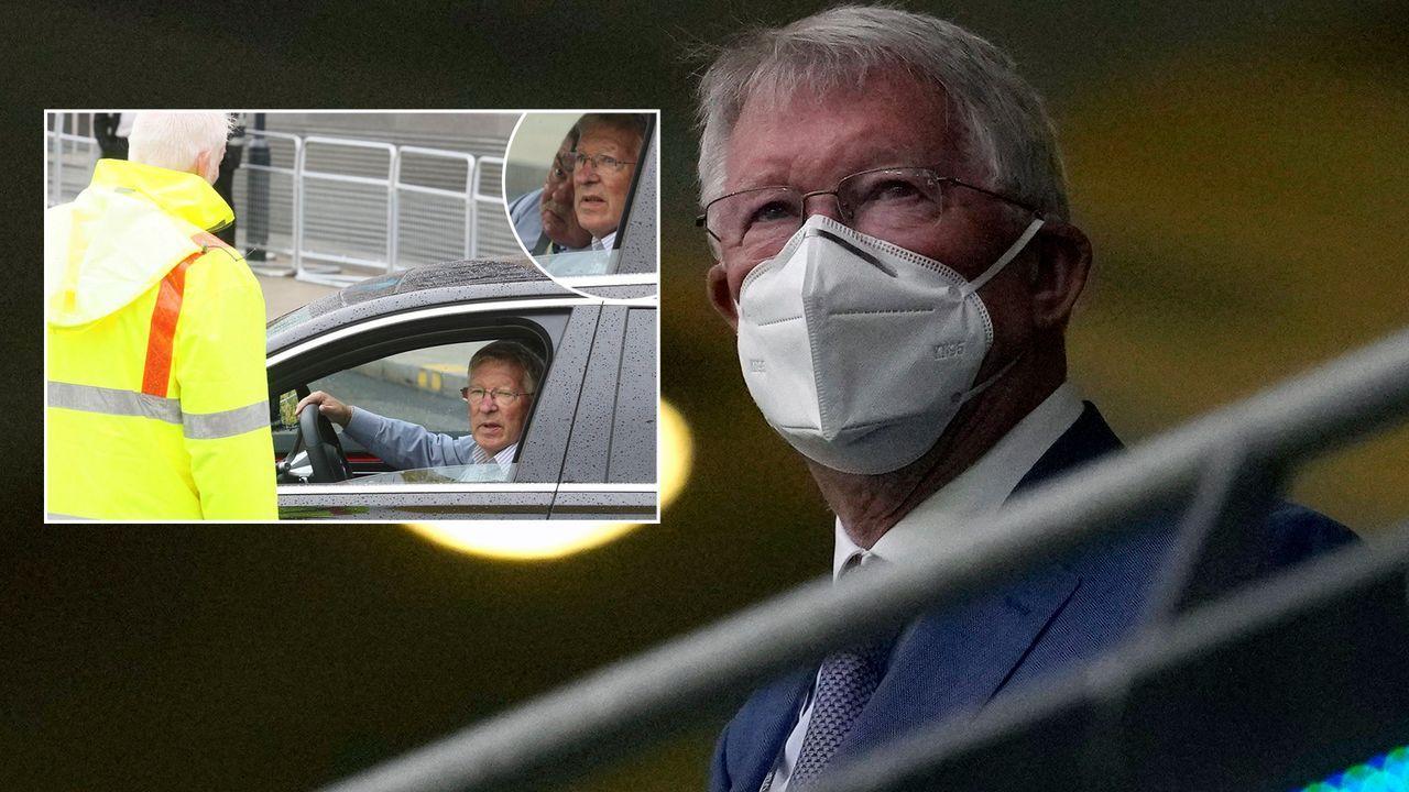 Wembleystadion: Sir Alex Ferguson von VIP-Parkplatz verbannt - Bildquelle: Getty Images/twitter@scotsunsport