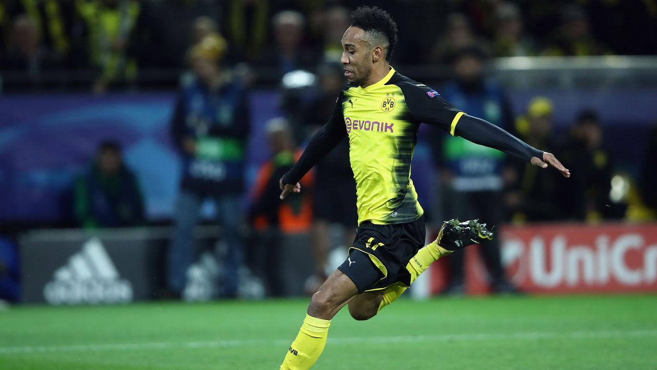 3. Pierre-Emerick Aubameyang (damals Borussia Dortmund) - Bildquelle: 2017 Getty Images
