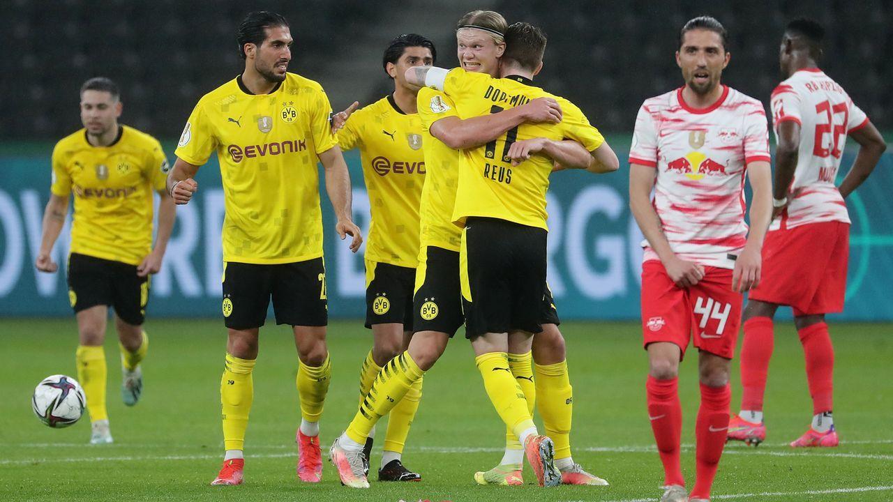 Die Noten der Leipzig und BVB-Stars - Bildquelle: Getty Images