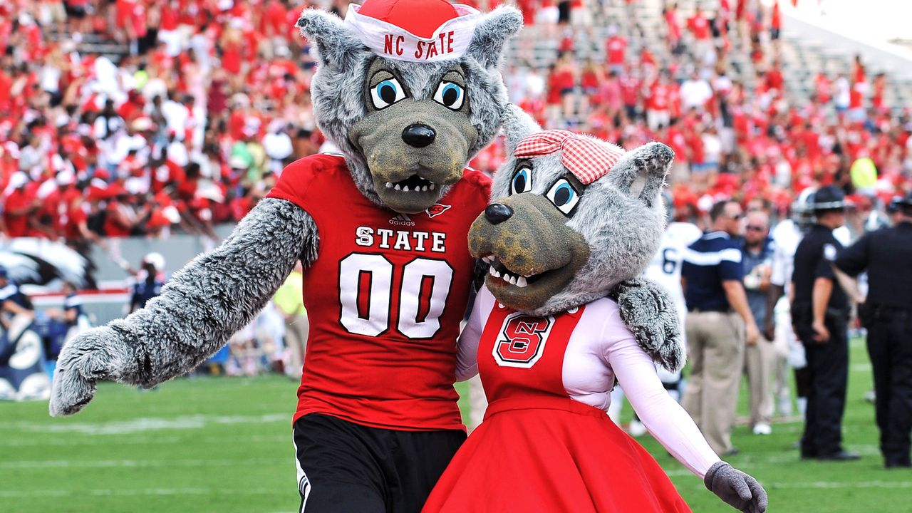 NC State Wolfpack - Maskottchen - Bildquelle: 2014 Getty Images