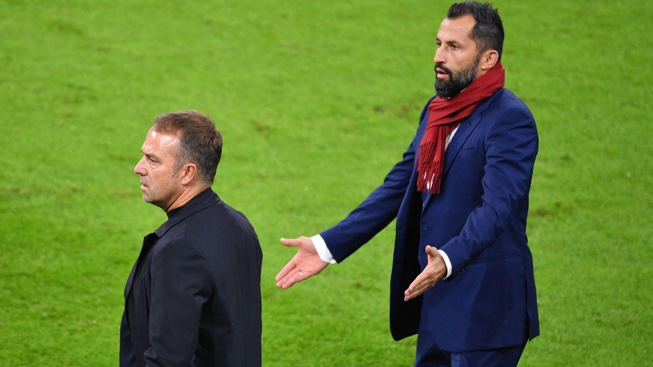 Flick vs. Salihamidzic: So eskalierte der Streit beim FC Bayern - Bildquelle: Imago