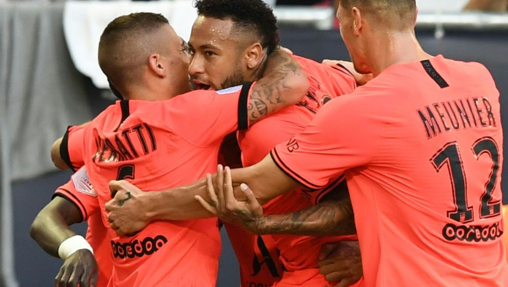 Neymar erzielte erneut den Siegtreffer für PSG - Bildquelle: AFPSIDMEHDI FEDOUACH