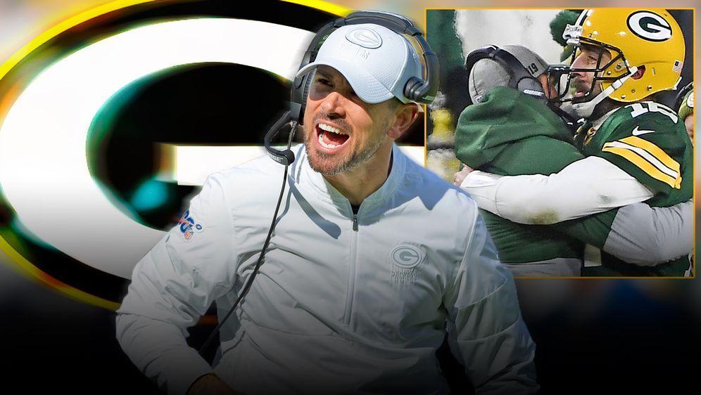 Matt LaFleur führte die Green Bay Packers zurück in die Erfolgsspur. - Bildquelle: imago / Getty Images
