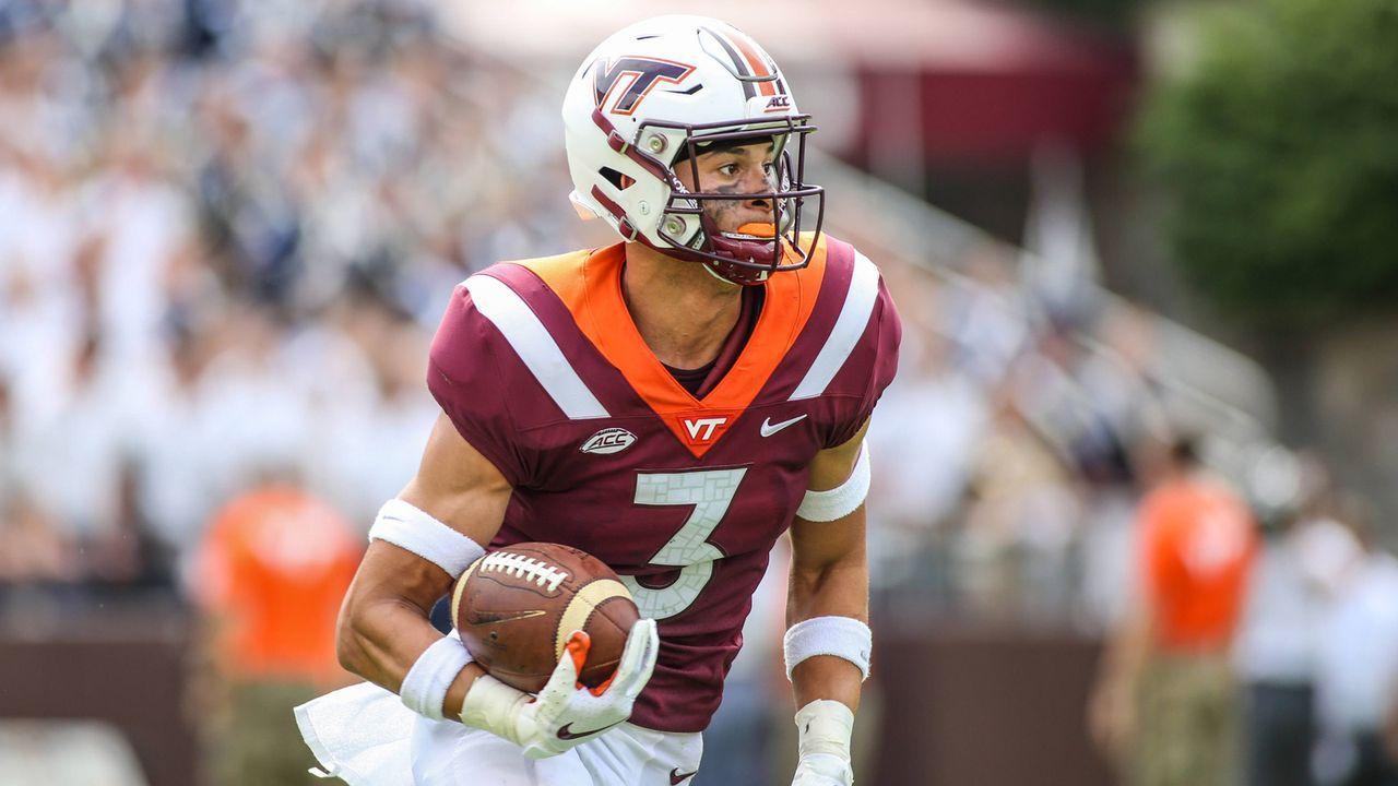 Pick 15: Caleb Farley (Cornerback, Virginia Tech) - Bildquelle: imago/ZUMA Press