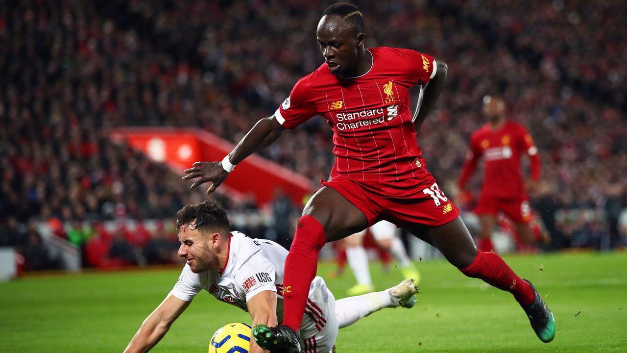 Platz 5 - Sadio Mane (FC Liverpool) - Bildquelle: 2020 Getty Images